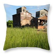 Ghost Elevator Throw Pillow