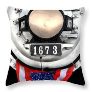 Ghost Engine Throw Pillow