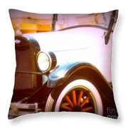 Ghost From The Past Throw Pillow