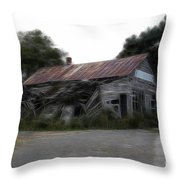 Ghost Hotel Throw Pillow