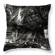 Ghost House Hd Throw Pillow
