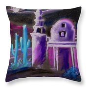 Ghost Mission Throw Pillow