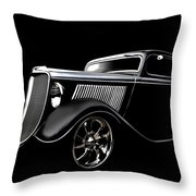 Ghost Of '33 Throw Pillow