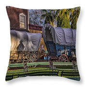 Ghost Of Old West No.1 Throw Pillow