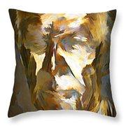 Ghost Of Robert Stanfield Throw Pillow
