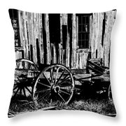 Ghost Of The Town Throw Pillow