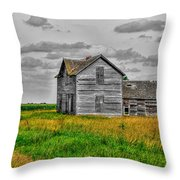 Ghost Of Yesterday Throw Pillow