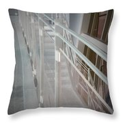Ghost Rails 2 Throw Pillow