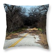 Ghost Road IIi Throw Pillow