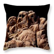 Ghost Rocks Or Ghosts Rock Throw Pillow