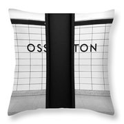 Ghost Station Throw Pillow
