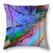 Ghost Strings That The Brain To Heaven Brings Throw Pillow