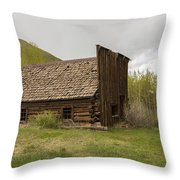 Ghost Town Ashcroft 3 Throw Pillow
