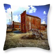 Ghost Towns In The Southwest Throw Pillow
