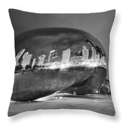 Ghosts In The Bean Throw Pillow