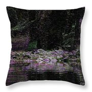 Ghosts In Twilight Throw Pillow