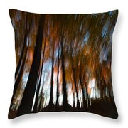 Ghosts Of The Forest Throw Pillow