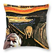 Ghosts Of The Past Throw Pillow