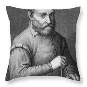 Giacomo Barozzi Da Vignola (1507-1573) Throw Pillow