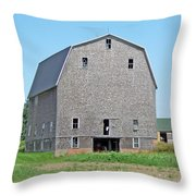 Giant Barn Throw Pillow