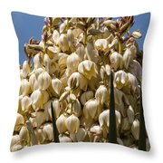 Giant Bloom Throw Pillow