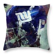 Giants Art Throw Pillow