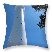 Gibbs Hill Lighthouse Throw Pillow