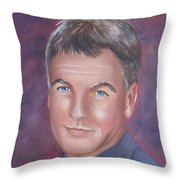 Gibbs Of Ncis Throw Pillow