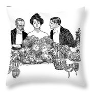 Gibson: Retirement, 1900 Throw Pillow