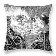 Gibson: Word In Private Throw Pillow