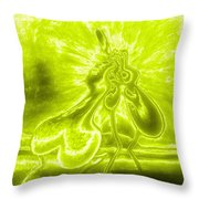Giddy Action Throw Pillow