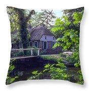 Giethoorn Thatch Throw Pillow