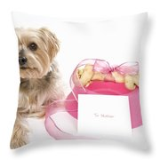 Gift For Mother's Day Throw Pillow