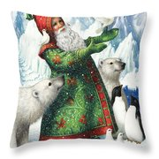 Gift Of Peace Throw Pillow by Lynn Bywaters