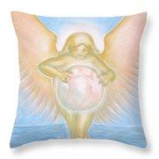 Gift Of The Golden Goddess Throw Pillow