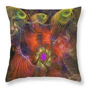 Gift Of The Magi - Square Version Throw Pillow