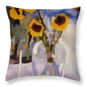 Gifts Of The Sun Throw Pillow