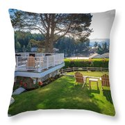 Gig Harbor View 1 Throw Pillow
