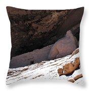 Gila Cliff Slope Throw Pillow