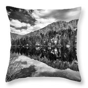 Gilbert Lake Throw Pillow