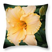 Gild The Lily Throw Pillow
