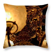 Gilded Age Throw Pillow