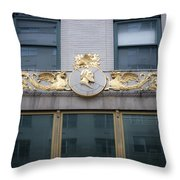 Gilded Beauty Throw Pillow