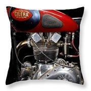 Gilera Saturno Engine 2 Throw Pillow