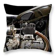 Gilera Vl Militare Motore 1 Throw Pillow