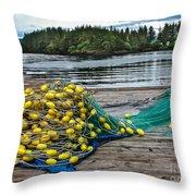 Gill Net Throw Pillow