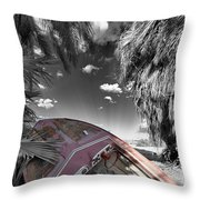 Gilligans Island Black And White 2 Throw Pillow