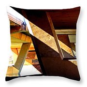 Gimme Some Support Throw Pillow