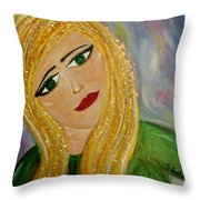 Gina Nevaeh Throw Pillow