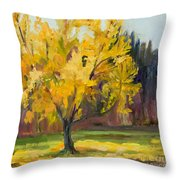 Ginko Glory Throw Pillow